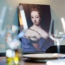 de blauwe dame