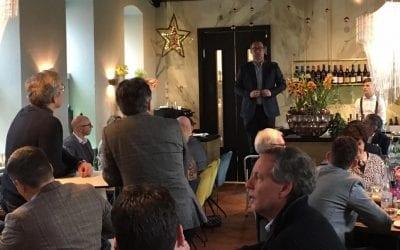 11-12-2018 Kerstlunch ON12 bij de Blauwe Dame Kasteel Hoensbroek
